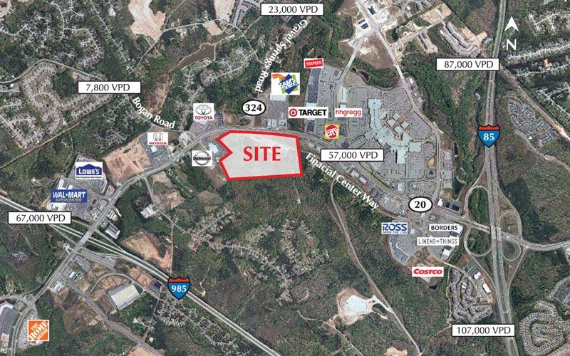 The Plaza Mall Of Georgia - Georgia mall map